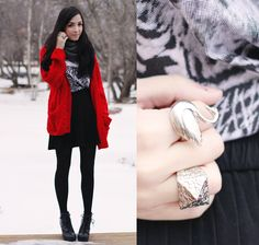 flattery: Winter Swan Winter fashion inspiration. Details of pieces on the blog: http://www.flattery.ca