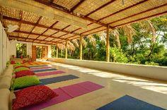 Casa Natureza Brasil: yoga Room