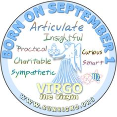 September 1 Birthday Horoscope Personality | Sun Signs