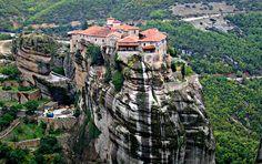 Monasterios de Valle de Meteora Grecia