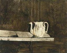 La théière de Christina - (Andrew Wyeth)
