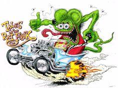 Cartoons From The 70S | 0802.2 - 14-01 - Rat Fink by ~TwistedMethodDan on deviantART