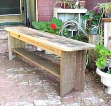 Furniture - Etsy Home & Living - Page 3 Barn Wood Projects, Pallet Furniture Outdoor, Wood Patio Furniture, Wood Bench, Rustic Interior Decor, Rustic Bench, Garden Furniture, Wooden Bench, Old Benches