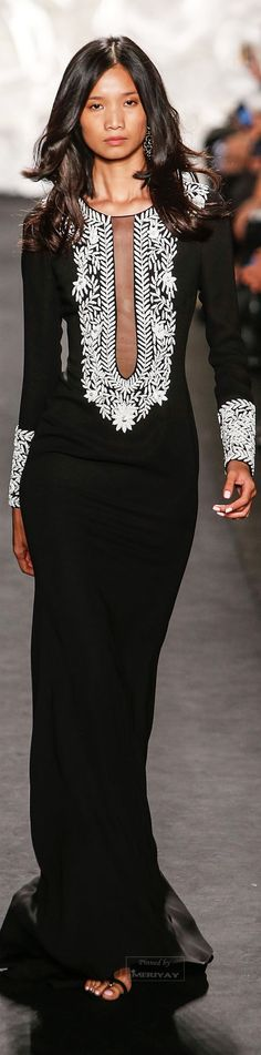 Trendy Ideas For Dress Indian Style Naeem Khan White Fashion, Love Fashion, Fashion Design, Couture Fashion, Runway Fashion, Womens Fashion, Beautiful Gowns, Beautiful Outfits, Naeem Khan