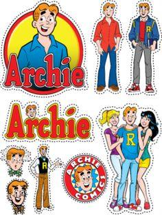 Archie Comics Stickers - Archie!