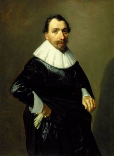Portrait of Arent Kievit, Jan Daemen Cool, 1633, Purchased with funds from the State of North Carolina