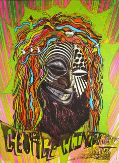 OMG Posters! » Archive » George Clinton & P-Funk Poster by Nate Duval & Friends