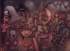 Paul Klee, Carnival in the Mountains, 1924