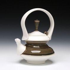 Schaller Gallery : Artist : Mike Jabbur : Teapot