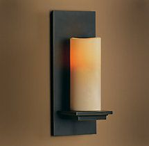 Pillar Candle Sconce - Dining room