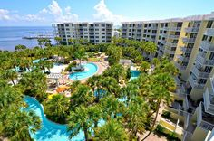 Hotels In Destin Florida, Fort Walton Beach Florida, Florida Pool, Destin Resorts, Destin Beach, Florida Travel, Florida Beaches, Beach Resorts, Florida Usa