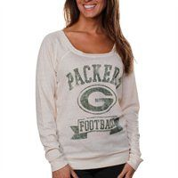 Green Bay Packers Ladies Vintage Helmet Off Shoulder T-Shirt @Fanatics ® #FanaticsWishList
