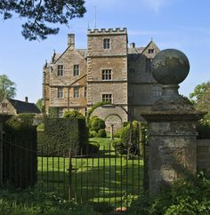 country home. Chastleton House, Chastleton, Oxfordshire, england. photography by malcolm osman
