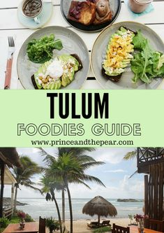 The foodies guide to Tulum. The most delicious restaurants and cafes in beautiful Tulum. Mexico Vacation, Cancun Mexico, Mexico Travel, Tulum Restaurants, Vacations To Go, Mexico Food, Delicious Restaurant, Quintana Roo, Riviera Maya