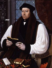 Wikipedia.org/***ANGELICAN-- Thomas Cranmer-- (1489-1556) was a leader of the English Reformation and Archbishop of Canterbury during the reigns of Henry VIII, Edward VI and, for a short time, Mary I. He helped build the case for the annulment of Henry's marriage to Catherine of Aragon, which was one of the causes of the separation of the English Church from union with the Holy See.