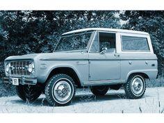Classic Ford Bronco.  The original SUV.