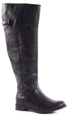 These Boots Are Made For Walkin in Black. www.DazyLu.com #holiday #love