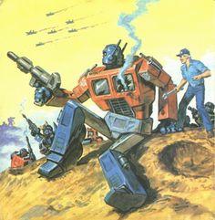 Earl Norem of Transformers Big Looker Storybooks
