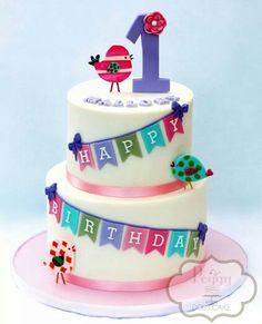 Happy Birdies Baby Birthday Cakes Occasion Cupcakes