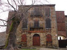 Fachada de la Plaza de Toros de Béjar (Salamanca). La más antigua de España (1711)