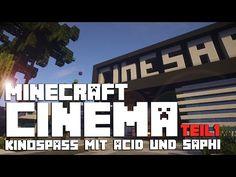 Ihr sucht noch nach Ideen für ein Kino in Minecraft? Acid3urn und Saphi zeigen Euch ein Kino der Superlative. Dieses Bauprojekt ist so gigantisch, das es nicht in ein einziges Video gepasst hat. Darum gibt es ab heute, den Start für 3 spannende und lustige Minecraft Kinobesuche.#Minecraft #PC #Xbox One #PS4 #Multiplayer #Survival #psn #playstation #Microsoft #Xbox #MC  #craft #modern #inspiration #buildings #house #street #stadt
