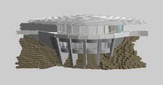 Malibu Mansion WIP 11 | by Kit Bricksto