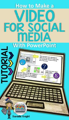 How to Make a Video For Social Media With PowerPoint. Step by Step Visual Tutorial.
