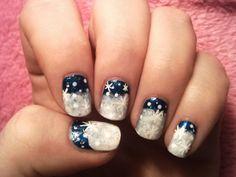 Snow 2013 nail art