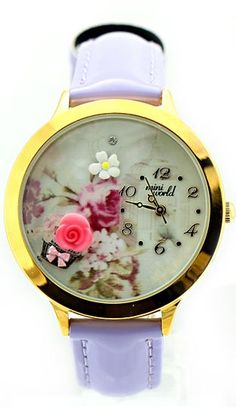 ★ MINI™ Beautiful Bouquet of Flowers Watches ★ Click here ► dreamywatches.com to see price and discover the latest MINI watch collection.