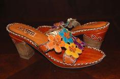 Spring Step L'Artiste Womens Shoes Palmetto Tan Multi Flower Sandal, Size 41 #SpringStepLArtiste #Strappy