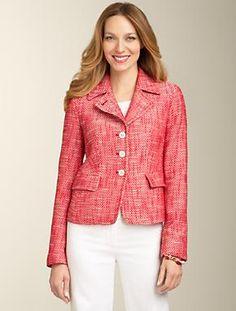 Talbots - Tweed Jacket