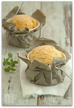 sorbet au melon, vanille et géranium bourbon