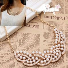 Wonderful Women/Girl Imitation Pearl Hollowed Golden Choker Bib Collar Necklace elegantstunning,http://smile.amazon.com/dp/B00I04CGA0/ref=cm_sw_r_pi_dp_xYcBtb05RZXVA412