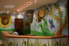 Themed environments Children's Church Ministry Murals