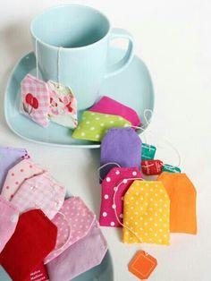 Teebeutel für den Kaufladen oder die Kinderküche