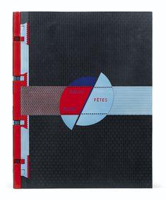 Calder, Alexandre -- Jacques Prévert FÊTES. PARIS, MAEGHT, 1971. Un des rares livres illustrés par Calder, dans une impressionante reliure de Jean de Gonet.