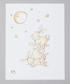 LoxlyHollow bunny illustrations