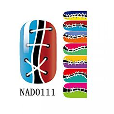 1 Sheet Spruce Popular Fashion Nail Art Sticker Waterproof Kit DIY Manicure Polish Tips Color Type NAD0111 ** Check out this great product.