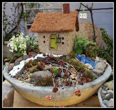 PhillyGardensBlog — Make a Miniature Rock or Fairy Garden: Step-by-Step Instructions (Part 1)