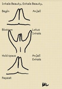 Mudra Notes: Breathing Beauty (Lotus)