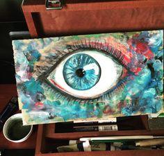 Night, Artwork, Painting, Work Of Art, Painting Art, Paint, Draw, Paintings
