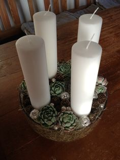 Adventskrans 2013 / Advent wreath 2013