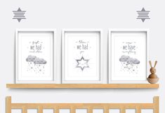 Nursery wall art, Set of 3 Baby Nursery prints, First we had each other, then we had you, Cloud nursery art, Baby nursery print, Star art by Printsinthegarden on Etsy https://www.etsy.com/uk/listing/540434779/nursery-wall-art-set-of-3-baby-nursery