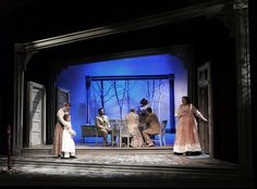 The Miracle Worker. Set design by Shawn Fisher. Set Design Theatre, Stage Design, The Miracle Worker, Teaching Theatre, Fantasy Setting, Over The River, Stage Set, Scenic Design, Artist Life