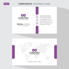 Elegant business card Free Vector | Free Vector #Freepik #freevector #logo #business-card #brochure #flyer Elegant Business Cards, Make Business Cards, Letterpress Business Cards, Business Card Design, Professional Business Cards, Card Templates, Vector Free, Images Photos, Letterhead