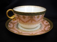 Limoges, Tea Cup and Saucer