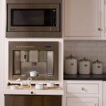 built in coffee station kitchen ikea cabinets Coffee Station Kitchen, Home Coffee Stations, Ikea Cabinets, Kitchen Cabinets, Kitchen Appliances, Kitchen Canisters, Kitchen Shelves, Corner Cabinets, Soapstone Kitchen