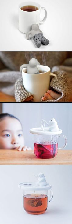 The 20 Most Creative Tea Infusers For Tea Lovers - click on the pin to follow the link to more ingenious creations...