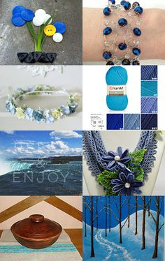 Blue by Matina Nychas on Etsy--Pinned with TreasuryPin.com