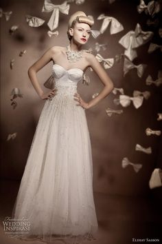 http://weddinginspirasi.com/2011/02/07/elihav-sasson-2011-bridal-collection/  Elihav Sasson wedding dress 2011  #weddingdress #weddings #bridal